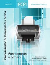 PCPI. REPRODUCCIÓN Y ARCHIVO