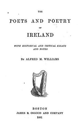 The Poets and Poetry of Ireland PDF