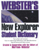 Webster's New Explorer Student Dictionary