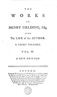 THE WORKS OF HENRY FIELDING  Esq  WITH The LIFE of the AUTHOR  In EIGHT VOLUMES  PDF