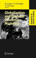Globalization and Regional Economic Modeling
