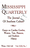 The Mississippi Quarterly PDF