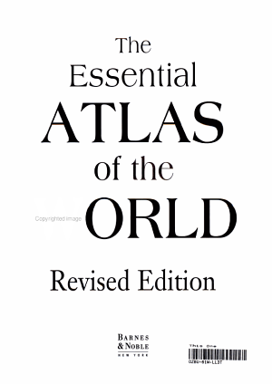 The Essential Atlas of the World
