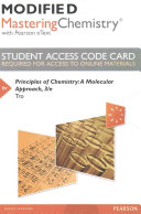 Modified MasteringChemistry with Pearson EText    Standalone Access Card    for Principles of Chemistry PDF