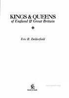 Kings   Queens of England   Great Britain PDF