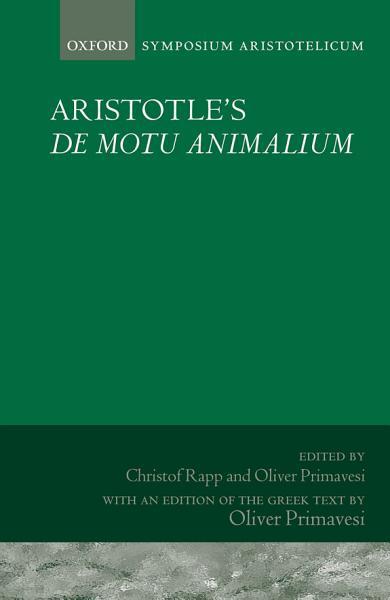 Aristotle s de Motu Animalium PDF