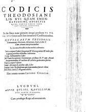 Codex Theodosianus: libri 16