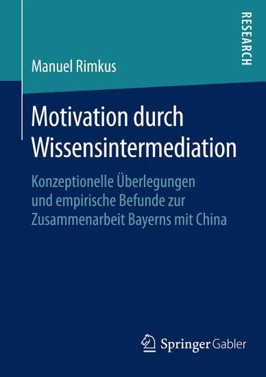 Motivation durch Wissensintermediation PDF
