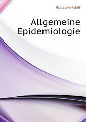Allgemeine Epidemiologie