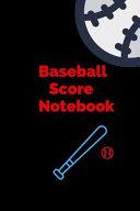 Baseball Score Notebook PDF