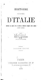 Histoire résumée d'Italie depuis la chute l'empire romain jusqu'à nos jours (476-1876)