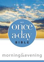 NIV  Once A Day  Morning and Evening Bible  eBook PDF