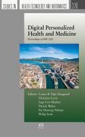 Digital Personalized Health and Medicine PDF