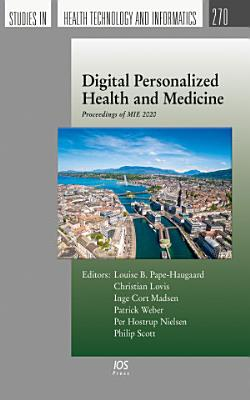 Digital Personalized Health and Medicine