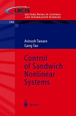 Control of Sandwich Nonlinear Systems PDF