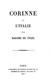Corinne, ou l'Italie: Volume2