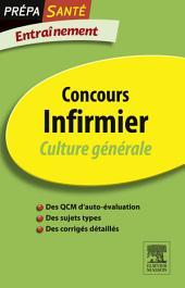 Concours Infirmier Culture générale Entraînement: Édition 4
