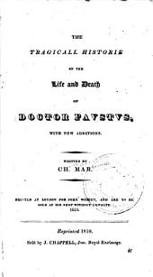 The Tragicall Historie of the Life and Death of Doctor Faustus