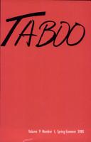 Taboo PDF