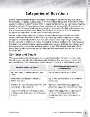 Language Arts Test Preparation Level 6  Arthur and the Pendragon Sword PDF