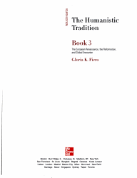 The Humanistic Tradition  The European Renaissance  the Reformation and global encounter PDF