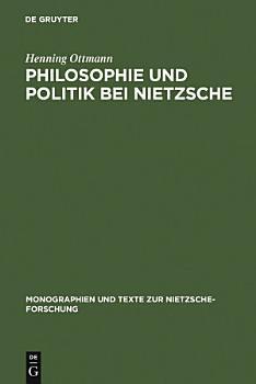 Philosophie und Politik bei Nietzsche PDF