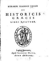 De historicis Graecis libri quatuor