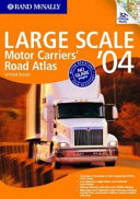 Rand McNally Large Scale Motor Carriers' Road Atlas '04