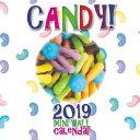 Candy! 2019 Mini Wall Calendar