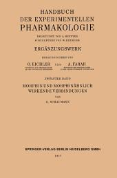 Morphin und Morphinähnlich Wirkende Verbindungen