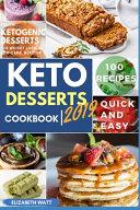 Keto Desserts Cookbook