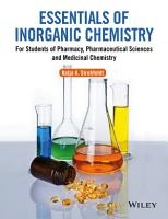 Essentials of Inorganic Chemistry PDF