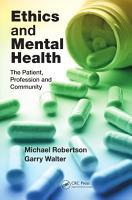 Ethics and Mental Health PDF