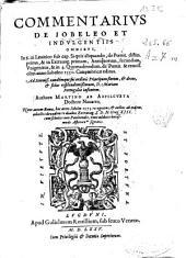 Commentarius de Iobeleo et indulgentiis omnibus ...