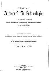 Zeitschrift fur wissenschaftliche Insektenbiologie: Band 3