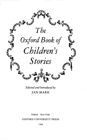 The Oxford Book of Children s Stories PDF