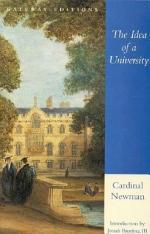 The Idea of a University