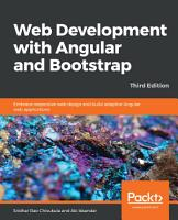 Web Development with Angular and Bootstrap PDF