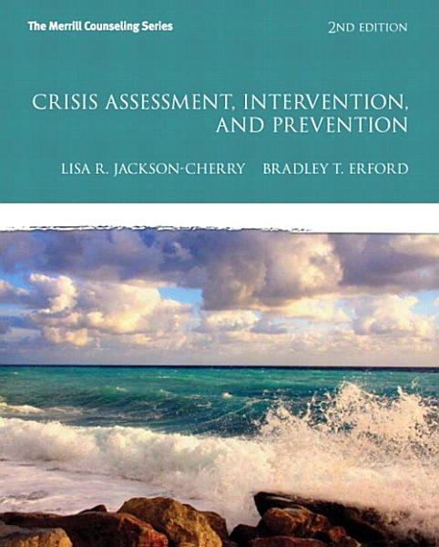 Download Crisis Assessment  Intervention  and Prevention Book