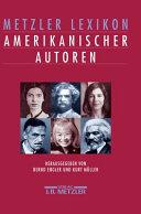 Metzler Lexikon amerikanischer Autoren PDF