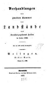 Verhandlungen der Zweiten Kammer der Landstände des Großherzogthums Hessen: 1835,4,[a]