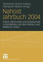 Nahost Jahrbuch 2004 PDF