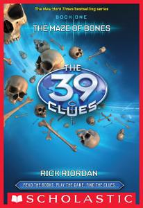 The 39 Clues Book 1  The Maze of Bones Book