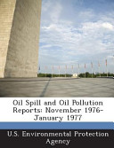 Oil Spill and Oil Pollution Reports PDF