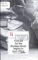 First Aid for the Drunken Driver Begins in Your Office PDF