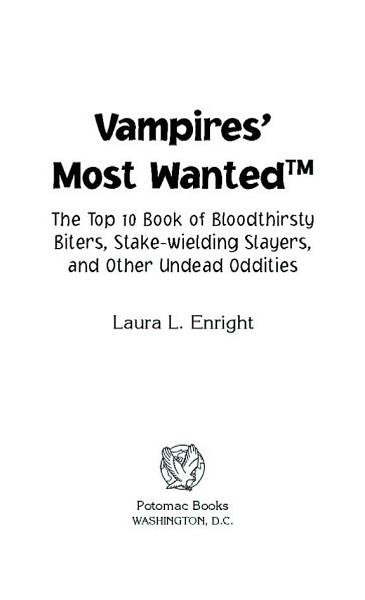Vampires  Most Wanted