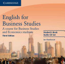 English for Business Studies Audio CDs  2  PDF