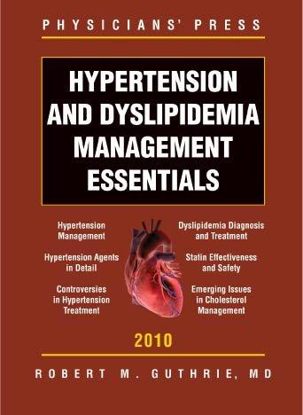 Hypertension and Dyslipidemia Management Essentials PDF