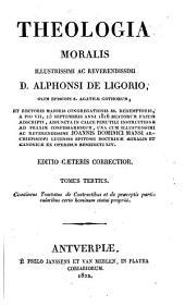 Theologia moralis: Volume 3