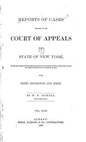 Reports of Cases Decided in the Court of Appeals of the State of New York: Volume 91